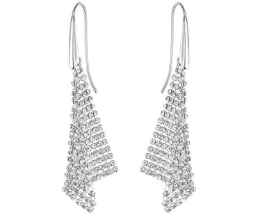 Swarovski-Fit-Pierced-Earrings-Small-White-Rhodium-Plating-5143068-W600